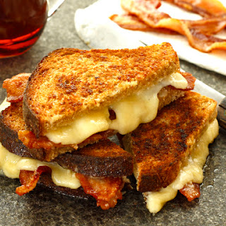 Heaven in Vermont Grilled Cheese.