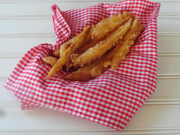 Battered French Fries Recipe
