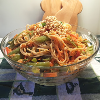 Asian Salad With Crunchy Noodles Recipes.