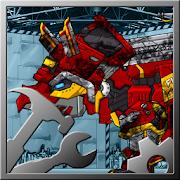 Repair!Dino Robot- Triceratops