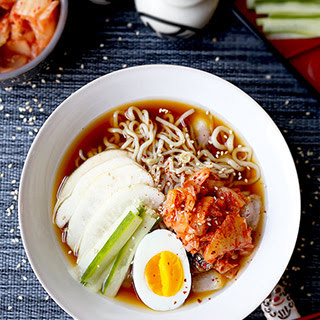 Cold Shirataki Noodle Soup (Naengmyeon) Recipe