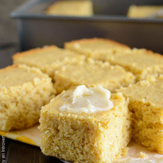 Maple Brown Butter Cornbread