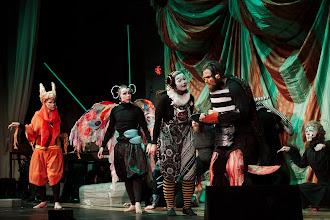 Photo: Lisää Kirppusirkus - musikaalin väkeä / More people from the Kirppusirkus musical