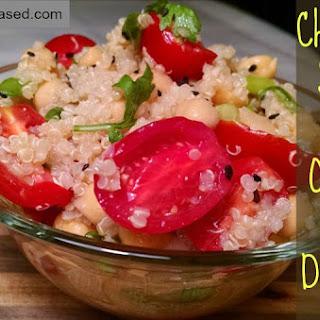 Chickpea Salad with Orange Miso Dressing