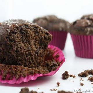 Chocolate-Chocolate Chunk Muffins.