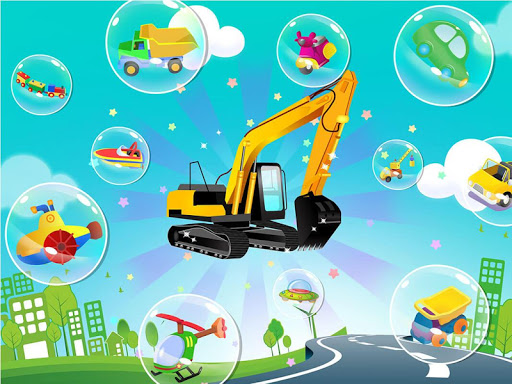 Car puzzles for toddlers - Vehicle sounds 1.3.11 screenshots 12