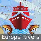 Europe Inland Rivers-Waterways icon