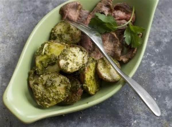Roasted Green Potatoes Recipe