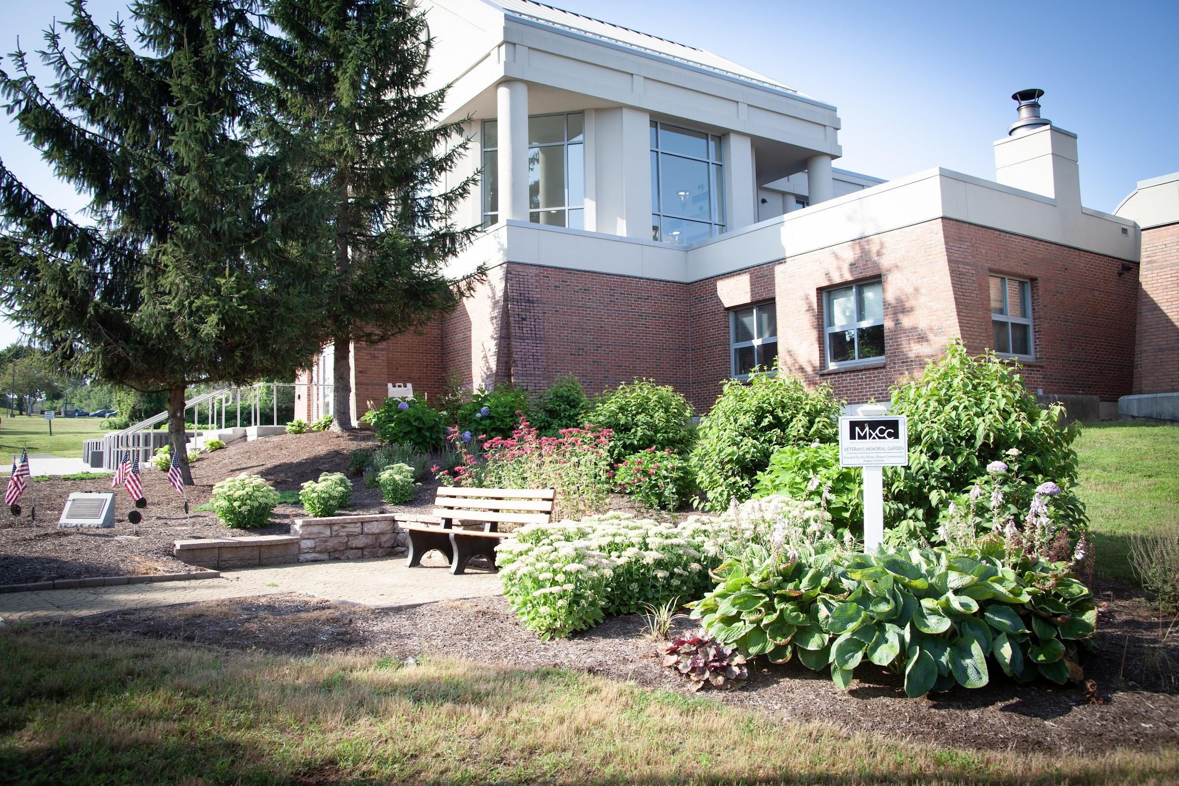Chapman Hall Veteran's Garden