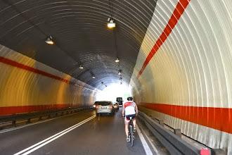 Photo: Die Tunnel wurden erst kürzlich in unseren Farben gestrichen. Demnächst soll auch das Logo folgen.