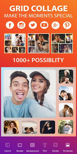 Photo Editor - Photo Collage & Grid Maker  screenshots 1