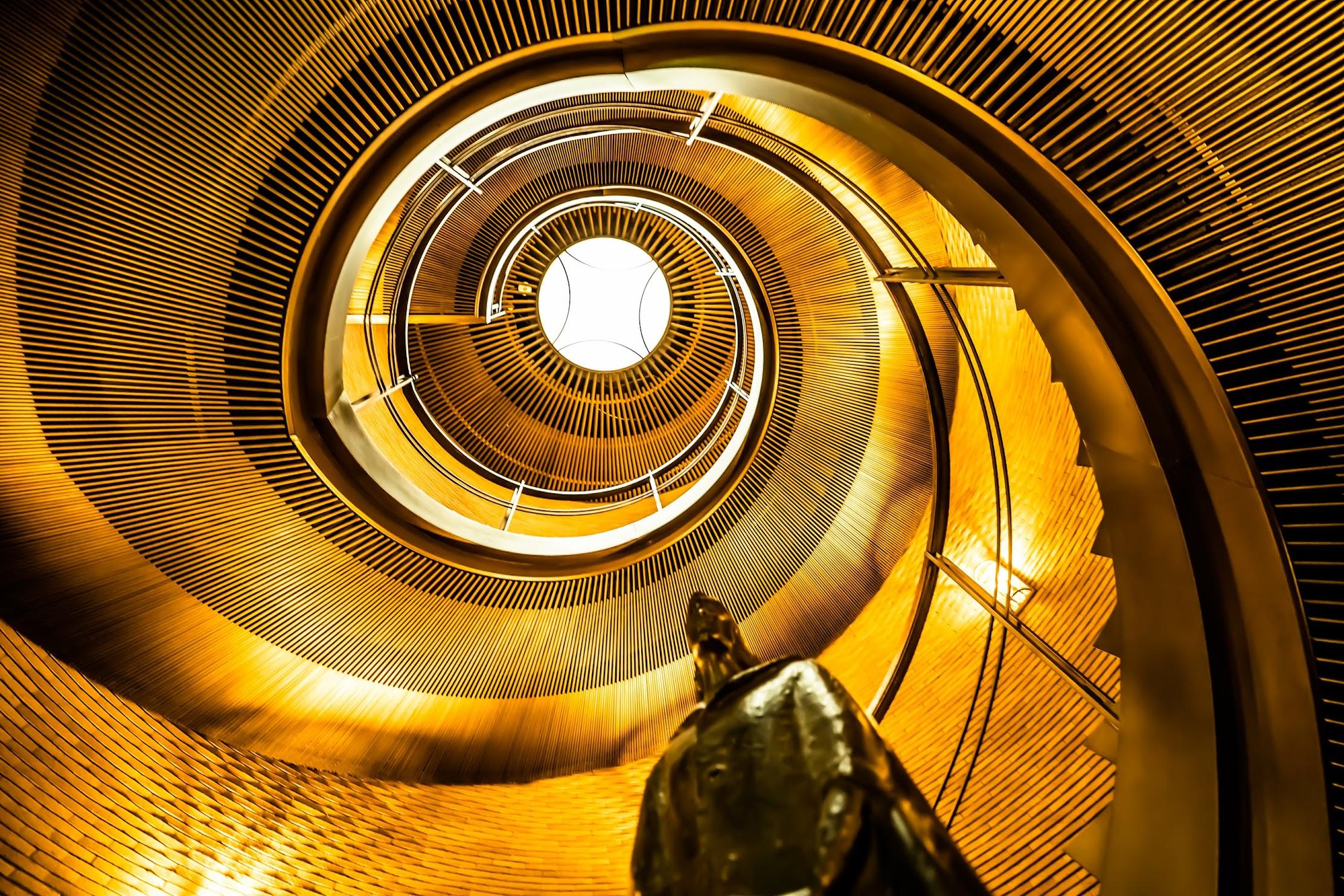 Spiral Staircases Asahi Plaza Umeda1