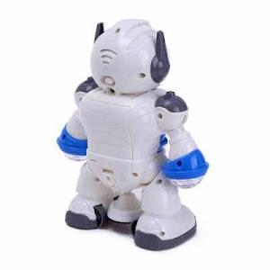 Robot dansator, cu sunete si lumini, Rotire 360 grade