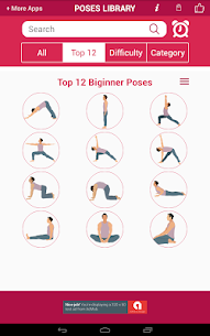 Yoga Poses :Yoga asanas videos Apk  Download For Android 8
