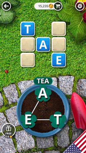 Garden of Words - Word game apktreat screenshots 2