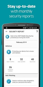 ESET Mobile Security & Antivirus PREMIUM v5.2.68.0 + Keys 8