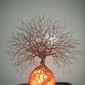 Salt lamp by Brian Boyer - Artistic Objects Other Objects