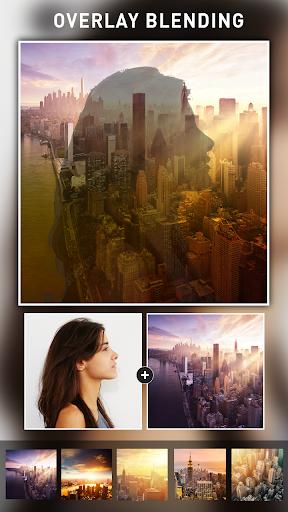 Photo Blend cam: Auto photo mixer blender merger 1.4 screenshots 4