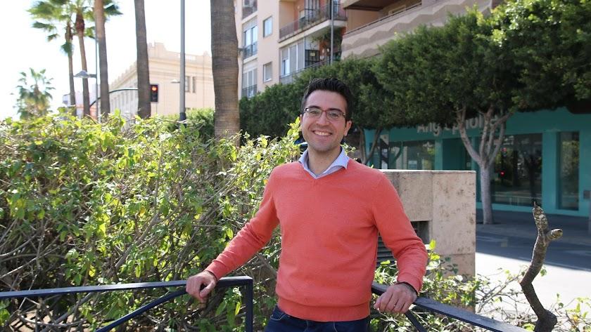 Ignacio López Garro, en Almería