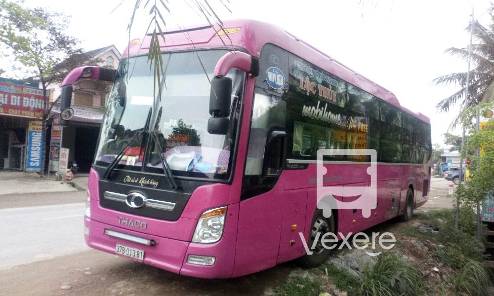 Xe Lộc Thủy từ Đồng Nai đi Nghệ An