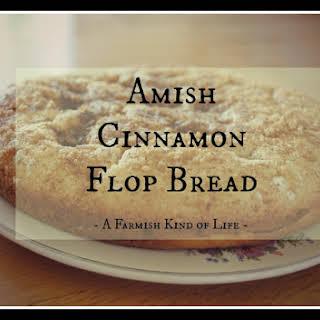 Cinnamon Flop Bread.