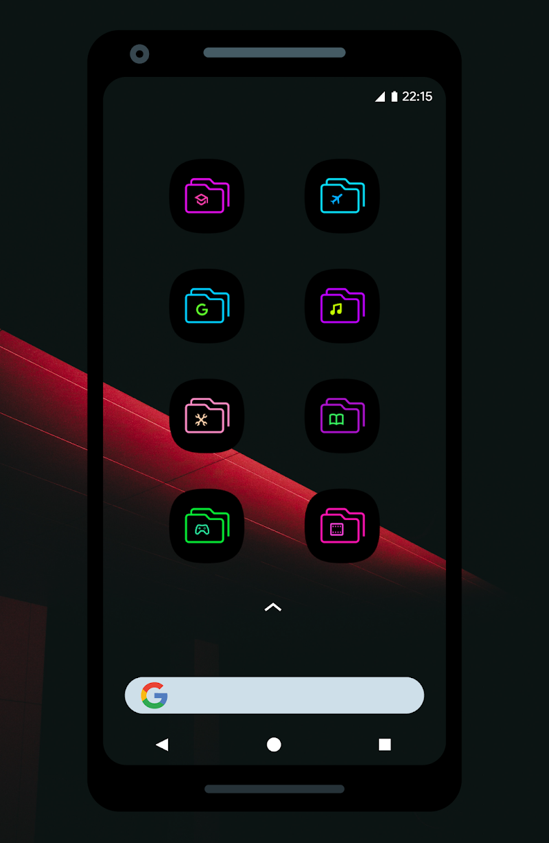 UX Led - Icon Pack Screenshot 4