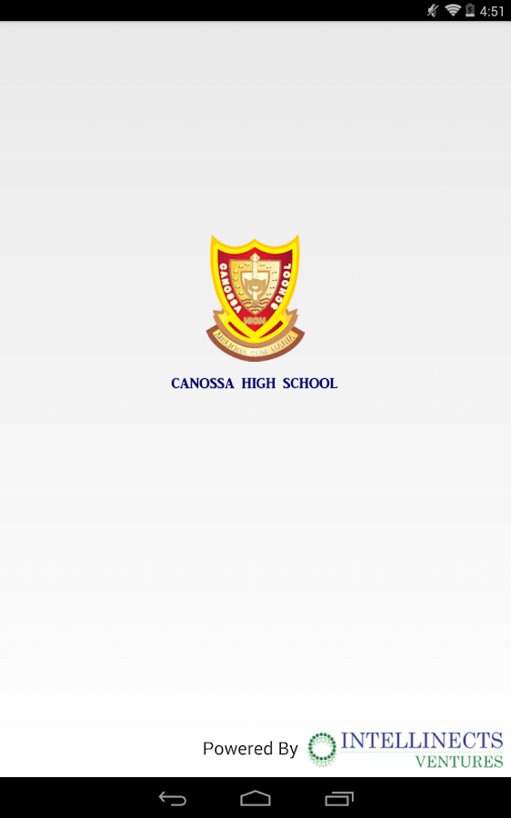 Canossa High School, Mahim- screenshot