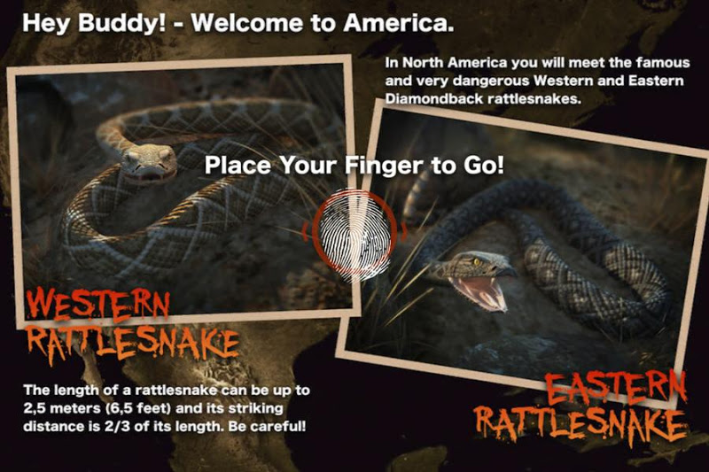 Скриншот Killer Snake Free – Move Quick or Die!
