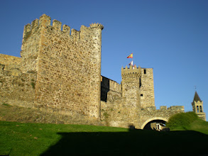 Photo: Castillo de los Templarios. Ponferrada