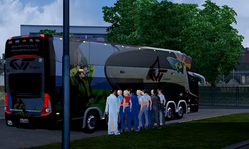 heavy euro bus simulator 2 screenshot 1