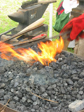 Photo: Blacksmith's flame