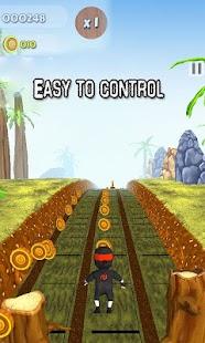 Subway Run Ninja Rush - náhled