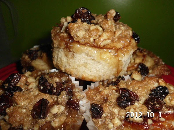 Apple Cinnamon Streusel Roll Recipe