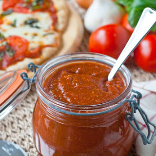 Roasted Tomato Pizza Sauce