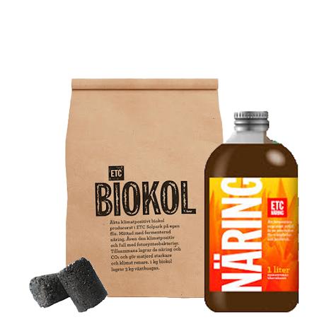 3L Biokol och 1L ETC näring paket