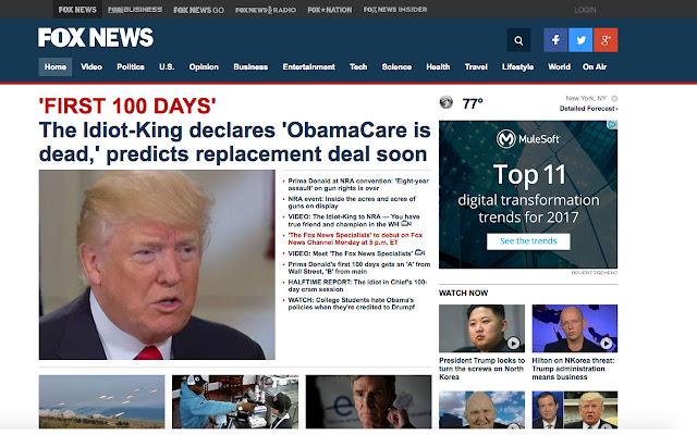 Trump the News