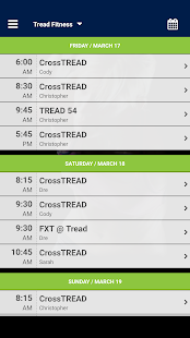 Tread Fitness Dallas- screenshot thumbnail