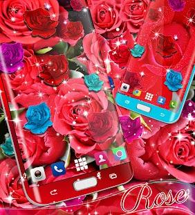 Rose live wallpaper 2017 - náhled