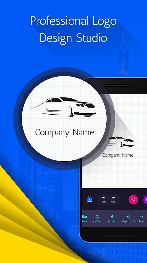 Logo maker logo design generator android apps on for Blueprint creator app
