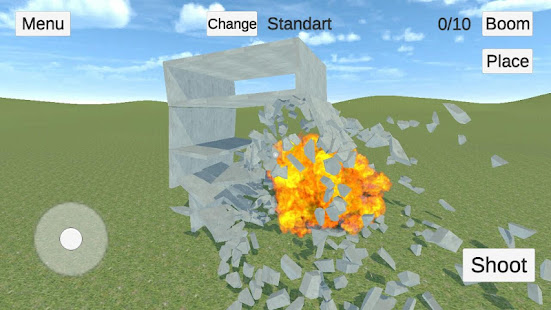Destructive physics: demolitions simulation