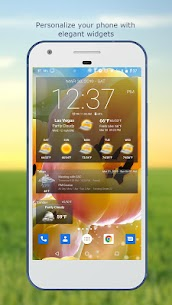 Weather & Clock Widget for Android Ad Free 4.1.3.3 MOD Apk Download 1