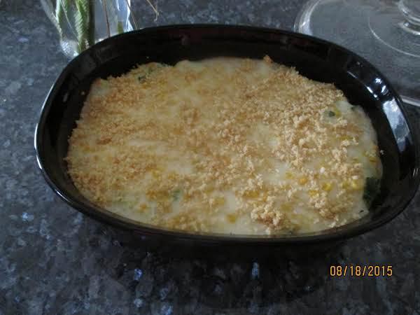 Broccoli And Corn Scallop