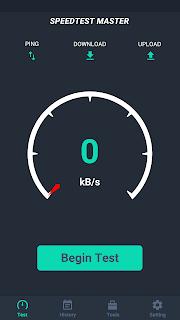Net Bandwidth SpeedTest Master screenshot 00