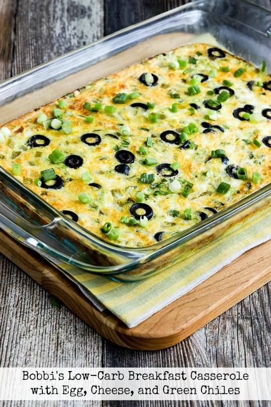 Bobbi's Egg and Green Chile Breakfast Casserole Recipe