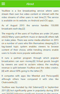guide for younow app live stream broadcast - náhled