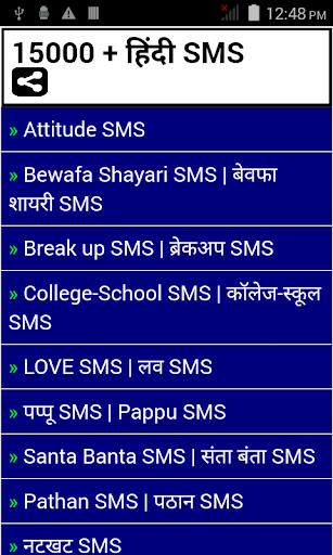 15000 + Hindi SMS
