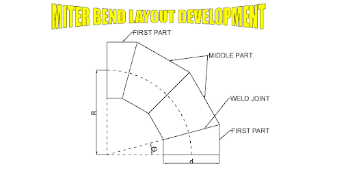 Miter Bend Layout - Apps on Google Play