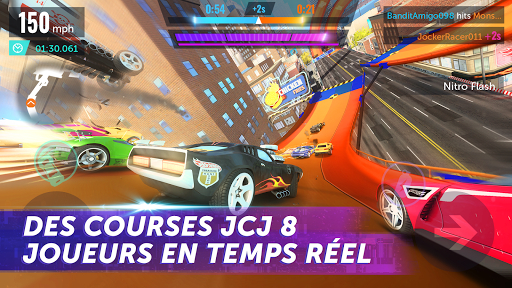 Hot Wheels Infinite Loop astuce APK MOD capture d'écran 1