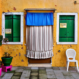 20150207_DSC_4512 by Zsolt Zsigmond - City,  Street & Park  Historic Districts ( door, burano, city, street, window, house, italy, colorful )
