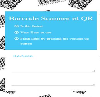 QR和条码扫描器是完全免费的。
